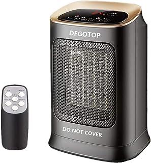 DFGOTOP Mini Calefactor Eléctrico Cerámico Baño, Calefacción Eléctrica Silenciosa Bajo Consumo , Portátil Calefactores Air...