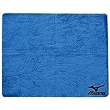 MIZUNO(ミズノ) スイムタオル 高吸水 セームタオル 85ZT75127 ブルー プール 水泳 小(34×44cm)