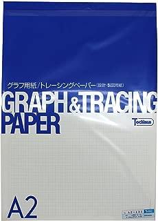 Sakaeshigyo 4.55mm graph paper quality paper 81.4g / m2 A2 50 sheets A2-451