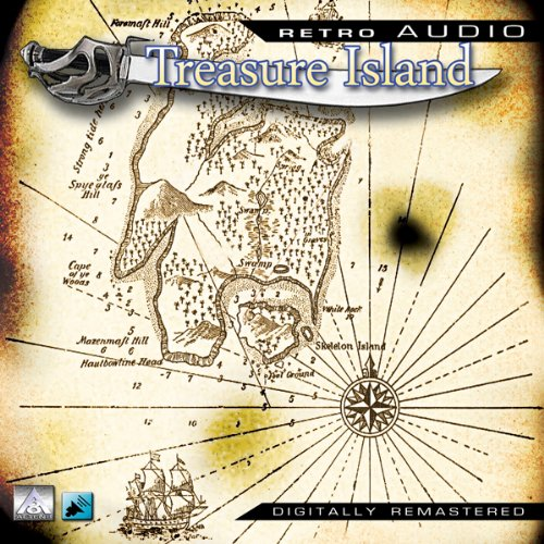 Treasure Island: Retro Audio (Dramatised) audiobook cover art