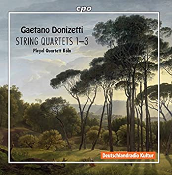 Donizetti: String Quartets Nos. 1-3