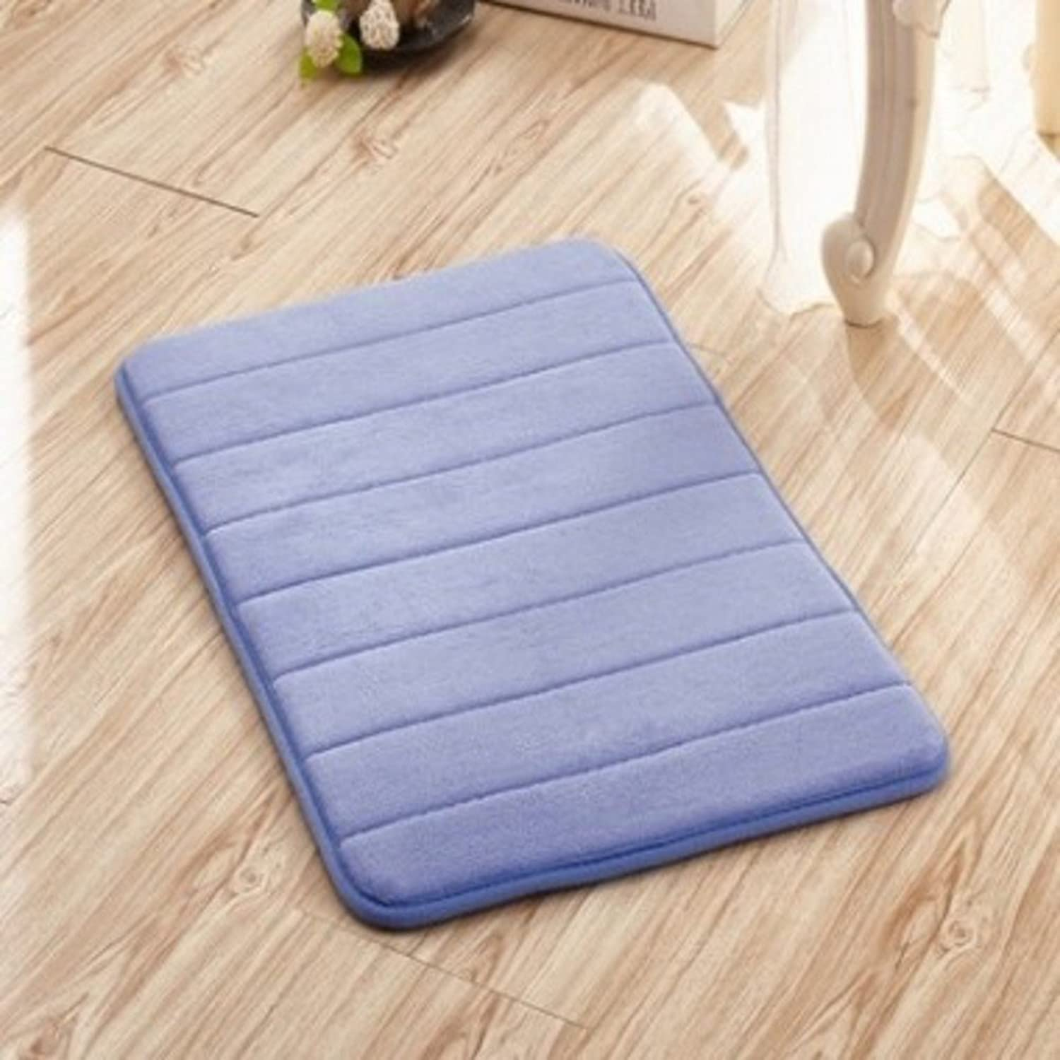 Carpet Doormat Memory Foam,Anti-skidding,Water-Absorbing Mats Slow Rebound Carpet Kitchen,Restroom,Bathroom Mat-I 80x160cm(31x63inch)