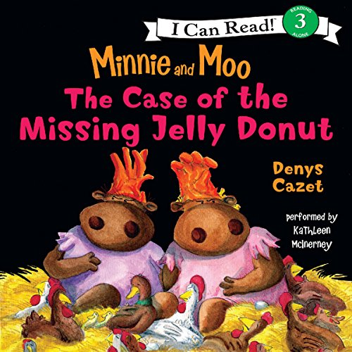 The Case of the Missing Jelly Donut audiobook cover art