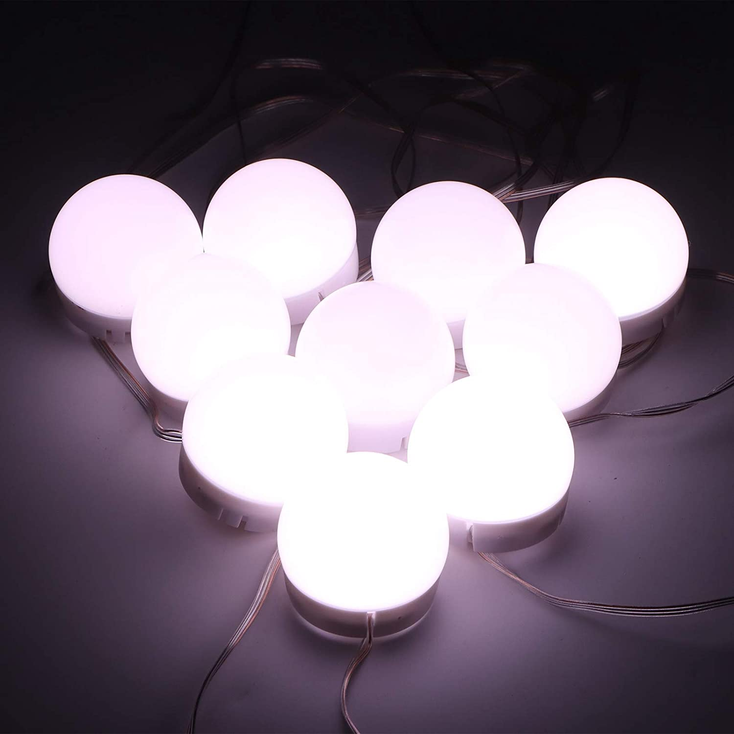 Cosmetic New arrival Mirror Bulb Safety and trust Adjustable Vanity Roo Dressing Lights for