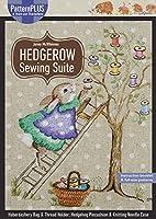 Hedgerow Sewing Suite: Haberdashery Bag & Thread Holder; Hedgehog Pincushion & Knitting Needle Case