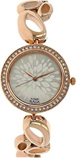 Raga Women's Bracelet Dress Watch with Swarovski Crystals - Quartz, Water Resistant