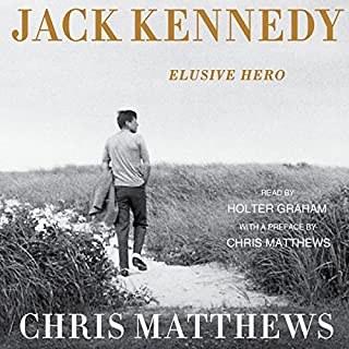 Jack Kennedy: Elusive Hero audiobook cover art