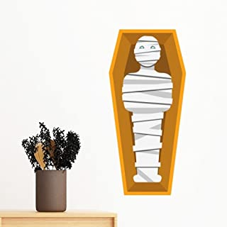 DIYthinker Egypt Culture Yellow Mummy Coffin Abstract Illustration Pattern Removable Wall Sticker Art Decals Mural DIY Wal...