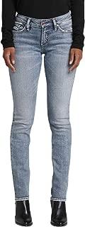 Women's Suki Curvy Fit Mid-Rise Straight Leg