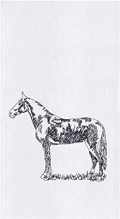 C&F Home Barnyard Horse 18 x 27 Inch Cotton Decorative Flour Sack Kitchen Towel