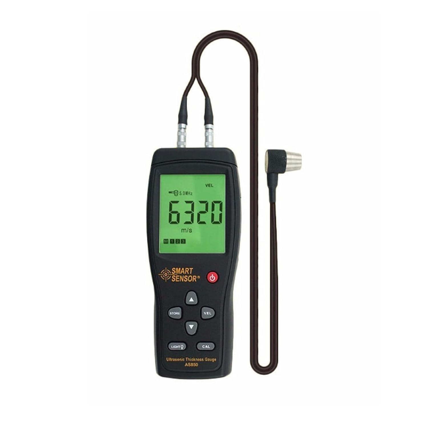ソートペリスコープポスト印象派計測 ディジタル超音波厚さ計 LCD 1.2?220MM スチールアルミニウム板音速計 AS850 楽器