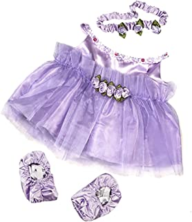 Lavender Ballerina Teddy Bear Clothes Outfit Fits Most 14