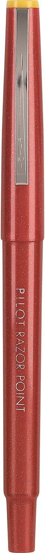 11007 Red Ink PILOT Razor Point Fine Line Marker Stick Pens 0.3mm 12-Pack Ultra-Fine Point - 1