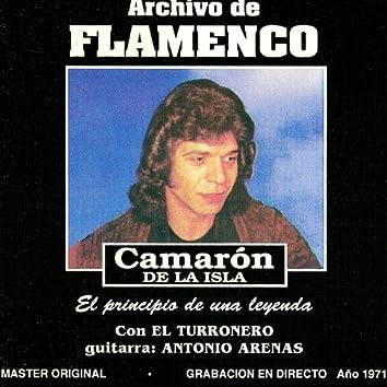 Archivo De Flamenco Vol.10 (Camarón De La Isla Con El Turronero)