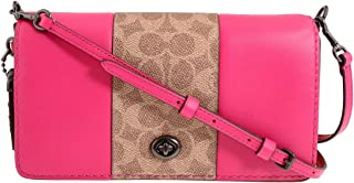 Coach Dinky Ladies Small Two Tone Leather Crossbody Bag 76368V5P34