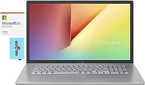 ASUS VivoBook 17 Home & Business Laptop (Intel i7-1065G7 4-Core, 8GB RAM, 1TB PCIe SSD, Intel HD 610, 17.3