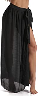 Beach Sarong Pareo Womens Semi-Sheer Swimwear Cover Ups...