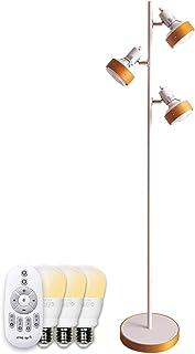 【Amazon限定ブランド】リモコン 調光調色 3灯フロアライト フロアスタンド LED電球付 照明 Nimos+WHF FineKagu+
