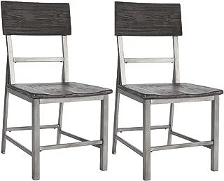 Ashley Furniture Signature Design - Raventown Dining Room Chair - Grayish Brown