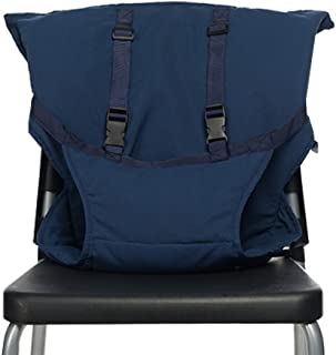 SMT チェアベルト 椅子固定タイプ シンプル柄 (ネイビー)