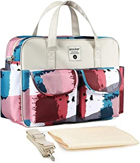 Fashion Convenient Shoulder Mommy Bag Mother and Baby Waterproof Large Capacity Multifunction Light Outing Diaper Bags