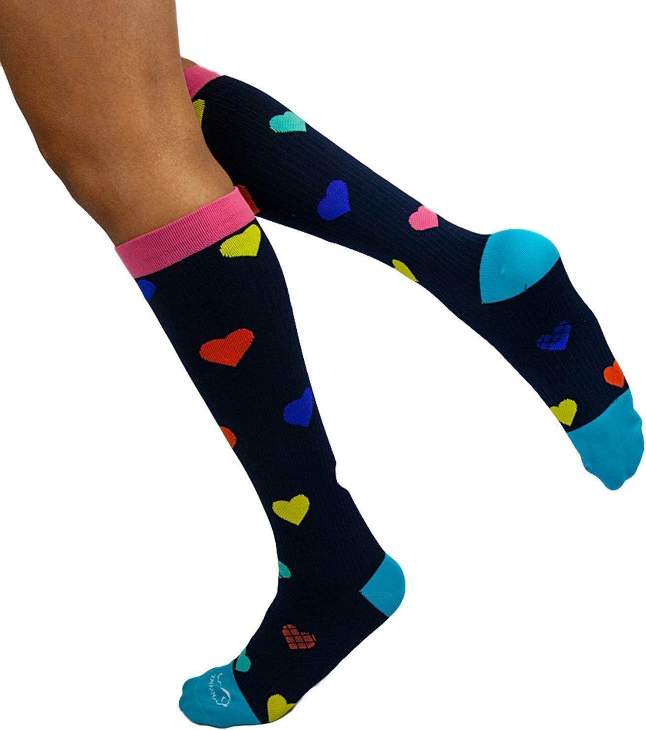 ZAYAAN Sale HEALTH Heart Compression National uniform free shipping Socks Hg 15-20 Anti-Fatig mm