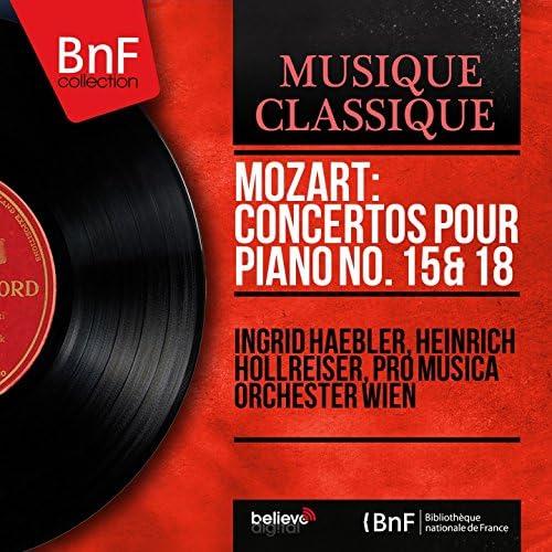 Ingrid Haebler, Heinrich Hollreiser, Pro Musica Orchester Wien