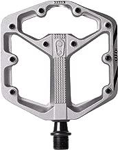 Crankbrothers Stamp Flat BMX/MTB Bike Pedal - Platform Bicycle Pedal, Minimal Profile, Adjustable Grip, Small/Large Sizes