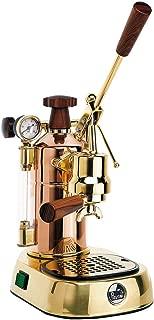 La Pavoni PPG-16 Professional 16-Cup Espresso Machine, Brass