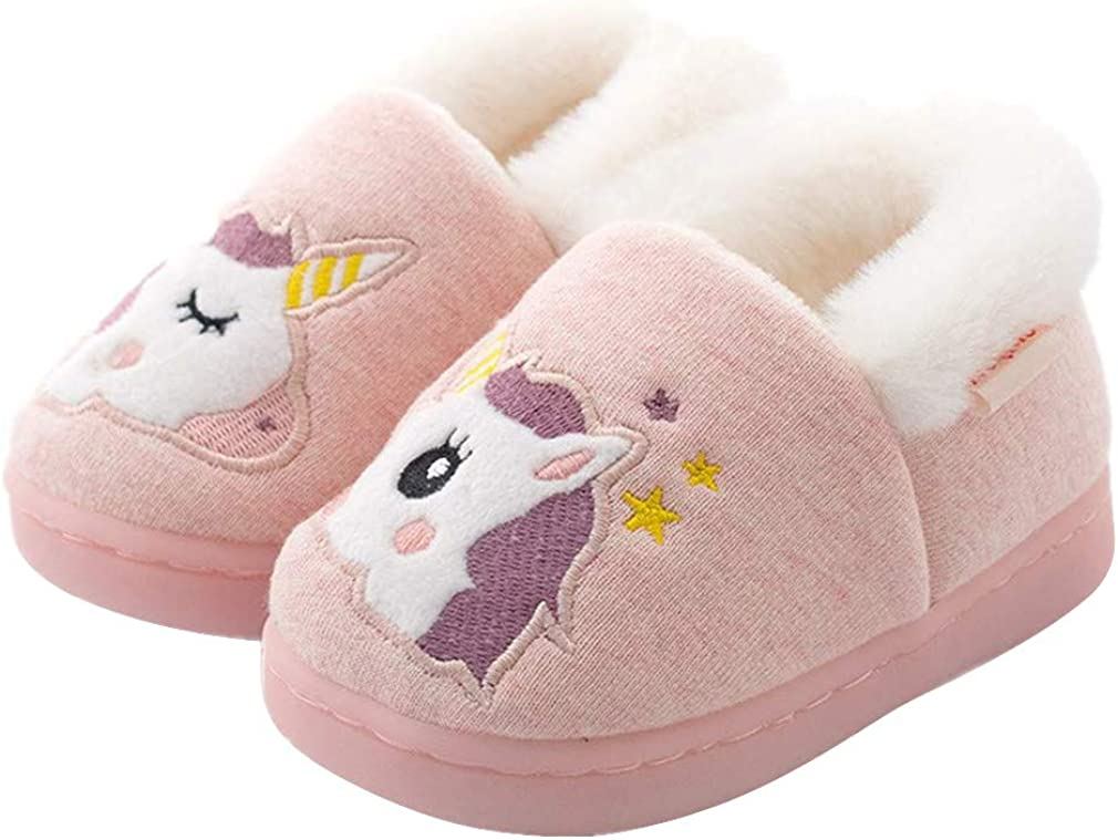 Toddler Boys Girls Slippers Fluffy Seattle Mall House Warm Anim Kids Weekly update