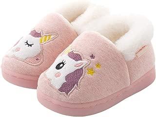 Toddler Boys Girls Slippers Fluffy Kids House Slippers Warm Animal Home Slipper