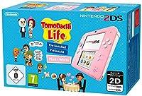 Inclusa una console, una scheda di memoria SD di 4 GB e un blocco alimentatore per Nintendo 2DS che può essere utilizzato con le console Nintendo 3DS, Nintendo 3DS e Nintendo 3DS XL + gioco 3ds Tomodachi Life pre-installato Doppio schermo di gioco di...