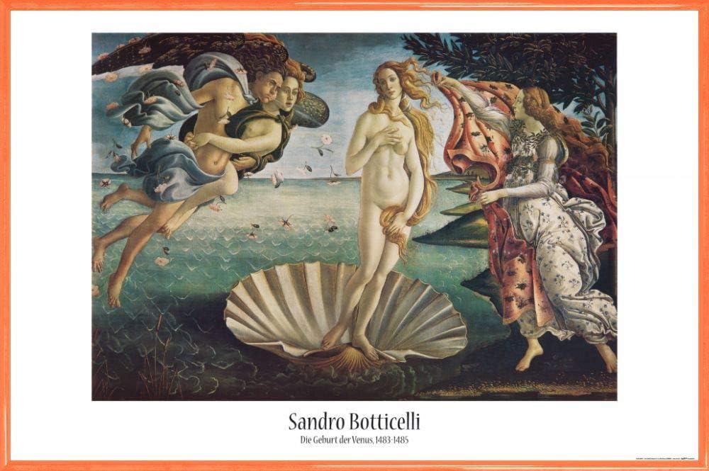 Sandro Botticelli 120x80cm #119196 Die Geburt Der Venus Poster Plakat