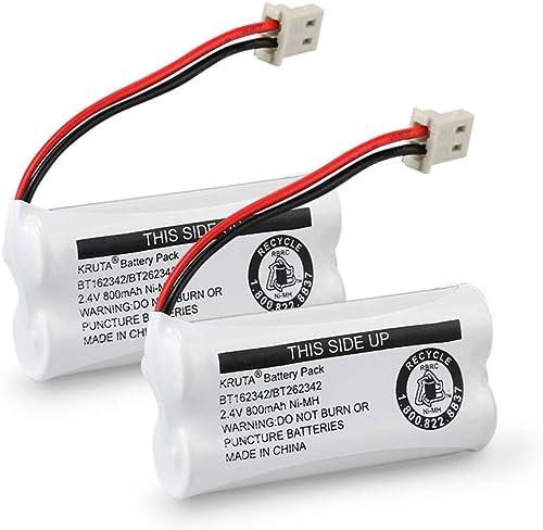 BT162342 BT262342 Cordless Phone Batteries Compatible with BT183342 BT283342 BT166342 BT266342 VTech CS6114 CS6419 CS...