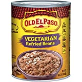 Old El Paso Refried Beans, Vegetarian, 16 oz Can...
