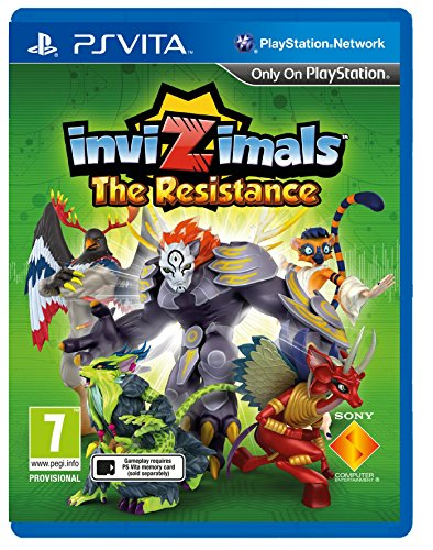 Invizimals: The Resistance (Playstation Vita) - [Edizione: Regno Unito]
