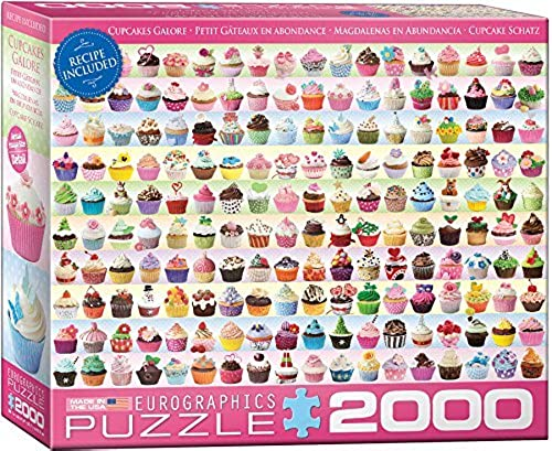 EuroGraphics Cupcakes Galore Puzzle (2000-Piece) by EuroGraphics