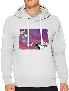Men Kanye West Graduation Sweater Young Sports Drawstring Music Sweater Black