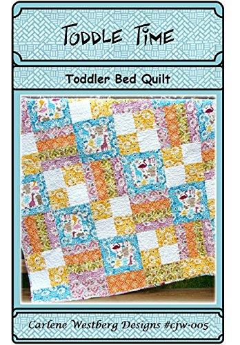 Quilt Pattern Toddle Time Toddler Bed cjw-005 Carlene Westberg Designs