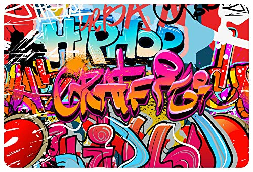 Bonneville deurmat deurmat vuilvanger 60 x 40 cm Retro Hip Hop Grafitti