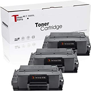 Tonersave Compatible MLT-D203L/XAA Toner Cartridge for Samsung ProXpress M3870FW M3370FD Toner SL-M3320ND SL-M3820DW M4070FR SL-M3820 SL-M3820ND SL-M4020ND M3870FD Laser Printer (Black 3 Pack)