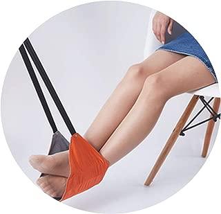 New Adjustable Aircraft Travel Foot Hammock Portable Chair Office Household Foot Hammock Mini Rest Mat Rest Hammock,B