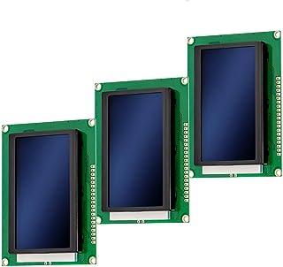 AZDelivery 3 x Modulo Pantalla LCD Display 12864 128 x 64 píxeles con Fondo Azul con 4x20 caracteres blancos compatible con Arduino con E-Book incluido!