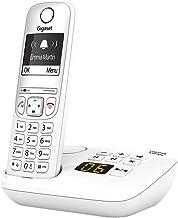 Gigaset AS690A, Schnurloses Telefon mit Anrufbeantworter – großes, kontrastreiches..