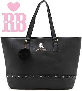 edb94a674 Bolsa Feminina Rebecca Bonbon Original Lado Grande Preta Tote Bag Semax