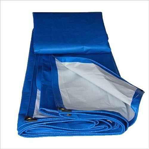 JEAQW Home Bache bache écran Solaire Anti-poussière auvent en polyéthylène Bleu + Blanc (Couleur   A, Taille   6x10M)