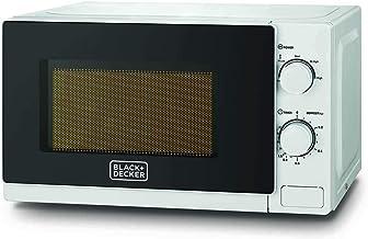 Black+Decker 20 Liters Microwave OVen, Black - MZ2020P, 2 Year Brand Warranty