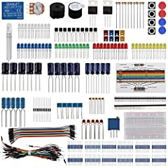 This is the cheapest and most basic Arduino kit for the beginner, has all the component you need to start Arduino, Raspberry pi. With more than 200pcs components,all of them would be useful in your experiments. 100% compatible with Arduino Developmen...