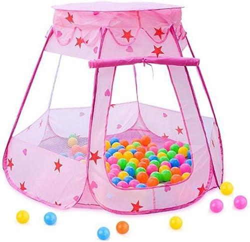 Tente de Jeu for Enfants Hengxing Pop Up Maison de Tente Piscine Enfants for Enfants Intérieur et extérieur (Couleur   rose)