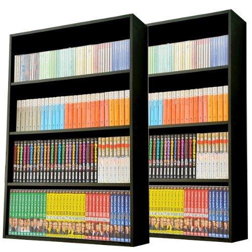 マンガぴったり本棚カラーボックス